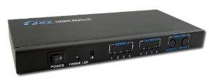 TEC 4入力2出力対応HDMIマトリクス型分配器 スプリッター機能搭載 THD42MSP