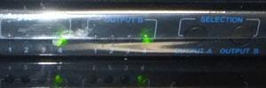 OUTPUT A(4) OUTPUT B(4)[4入力2出力対応 THD42MSP]