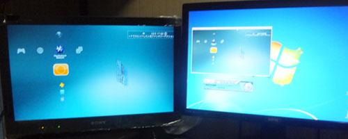 PS3二画面同時出力[マトリクス型分配器 スプリッター機能搭載 THD42MSP]
