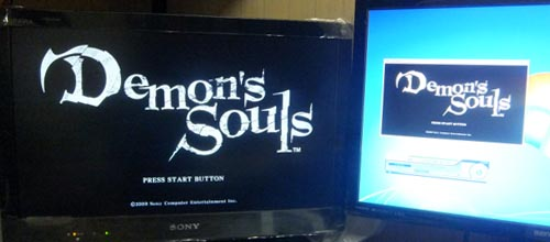 Demons Souls テレビとパソコン二画面表示[THD42MSP]