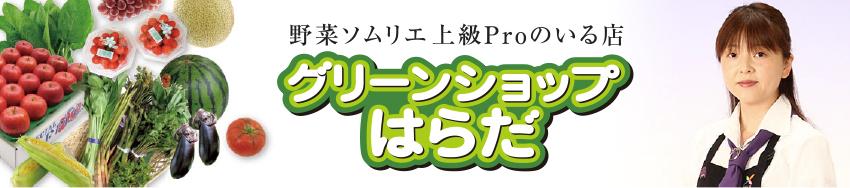 シニア野菜ソムリエのいる店│山形市の八百屋 グリーンショップはらだのホームページへようこそ!!