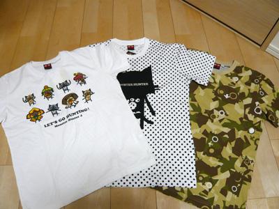 モンハンTシャツ