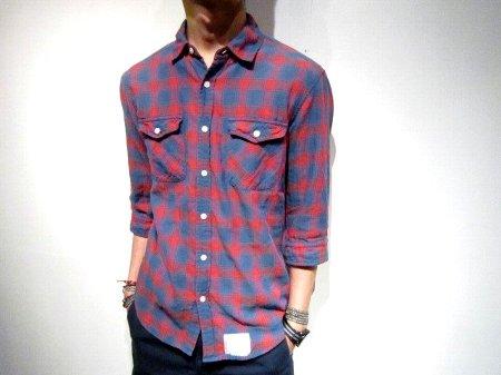 SAGE DE CRET チェックシャツ.jpg