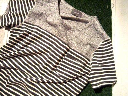 SAGE DE CRET Tシャツ ボーダー.jpg