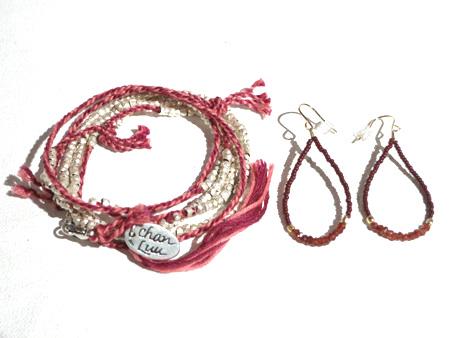 CHAN LUUネックレス&chibi jewelsピアス2.jpg