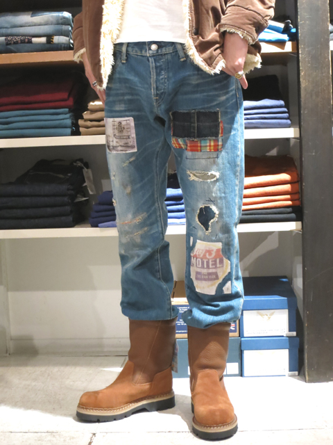 TMT  CUSTOMOIZED TRIP DENIM PANTS (1).jpg