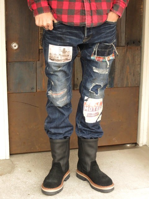 TMT CUSTOMOIZED TRIP DENIM PANTS.jpg