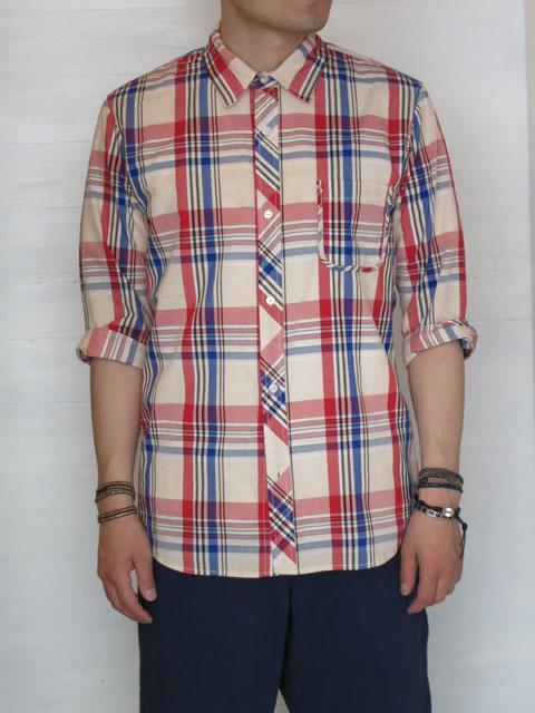 ガイジンメイド マドラスチェックシャツ 1.JPG