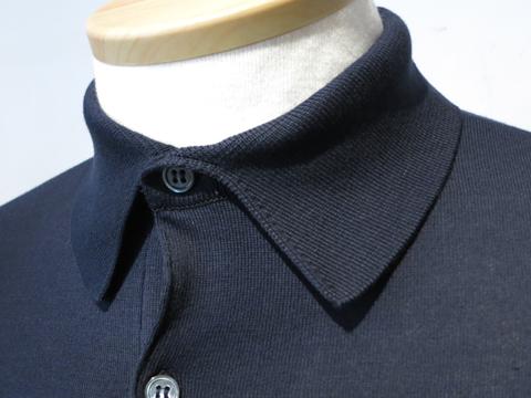 ジョンスメドレー  ポロシャツ (4).JPG