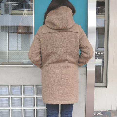 Rain cheetahダッフルコート4.JPG