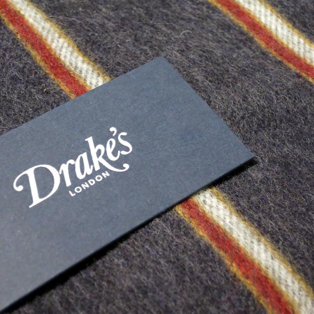 Drakes ドレイクス マフラー (6).JPG