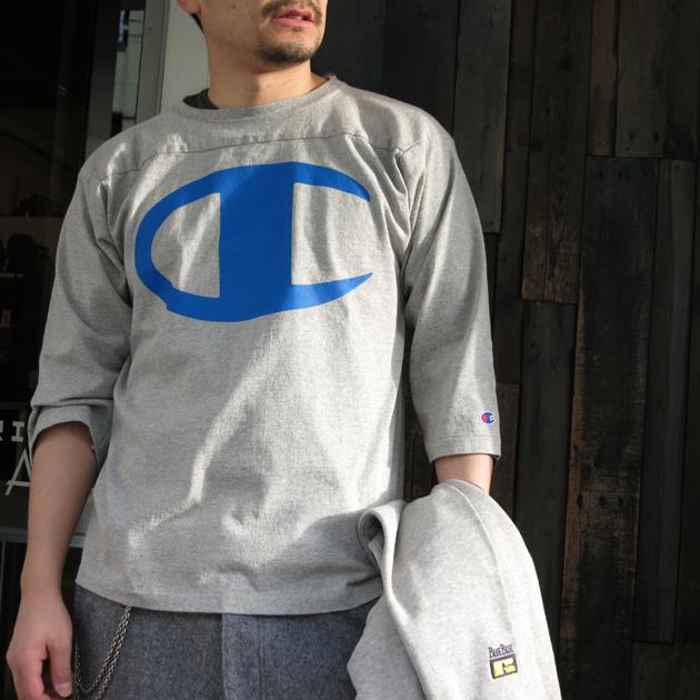 nanamica ナナミカ フットボールTシャツ (1).JPG