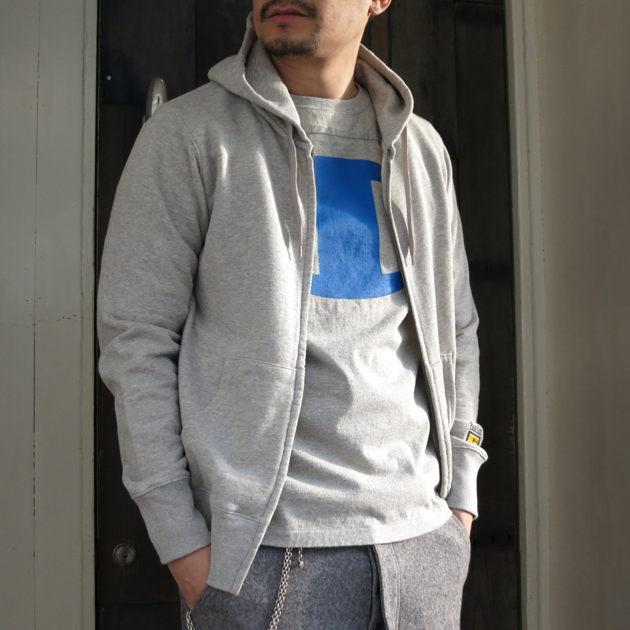 nanamica ナナミカ フットボールTシャツ (4).JPG