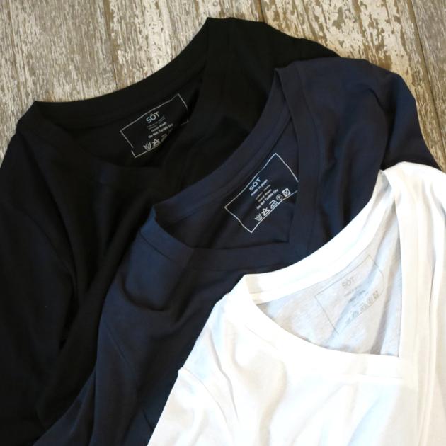 SOT VネックTシャツ1.JPG