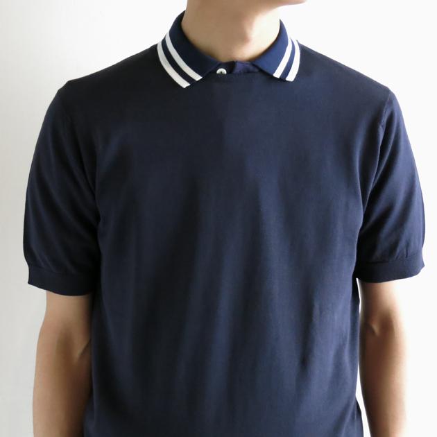 john smedley ジョンスメドレー ニットTシャツ (5).JPG