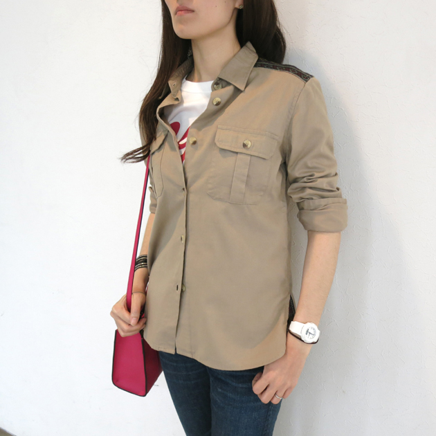 ROSE BUDミリタリーシャツ.JPG
