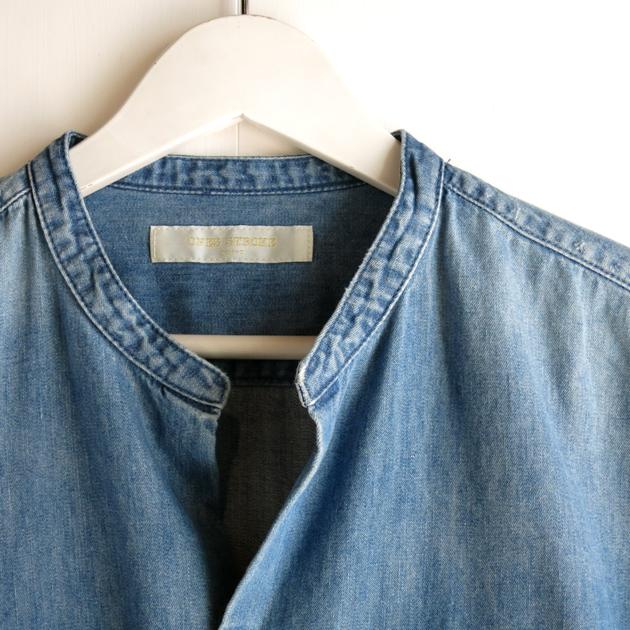 ワンズストローク  バンドカラーシャツ (1).JPG