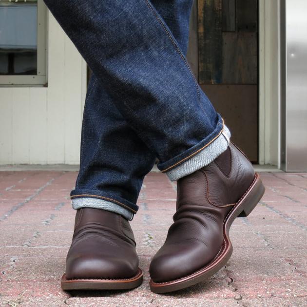 MR.OLIVE サイドゴア ブーツ.JPG