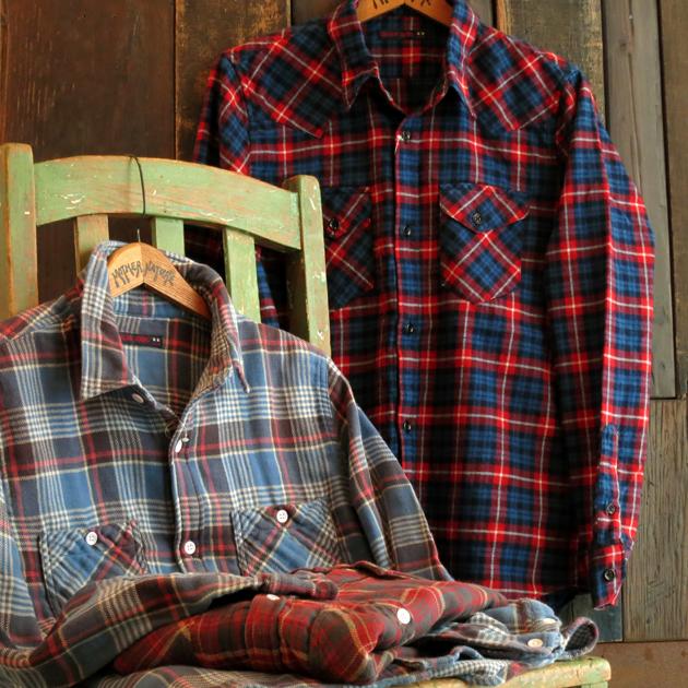 GAIJIN MADE チェックシャツ (1).JPG