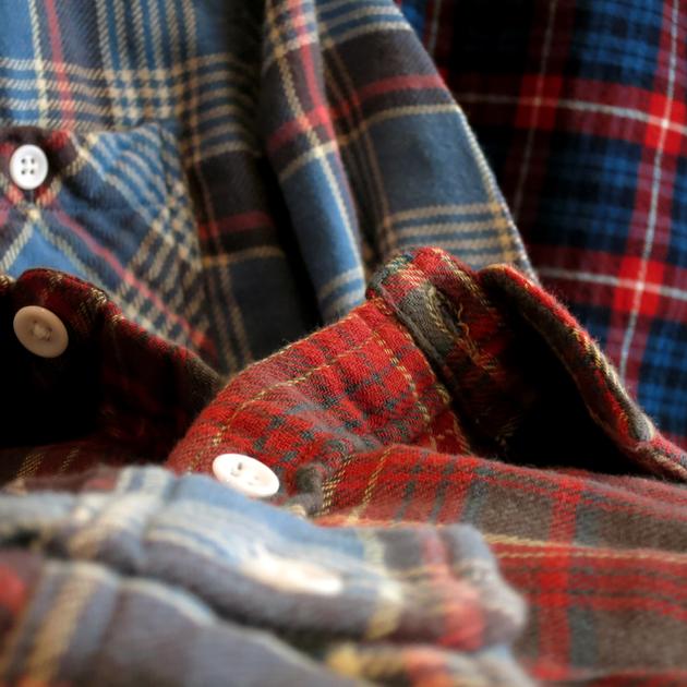 GAIJIN MADE チェックシャツ (2).JPG