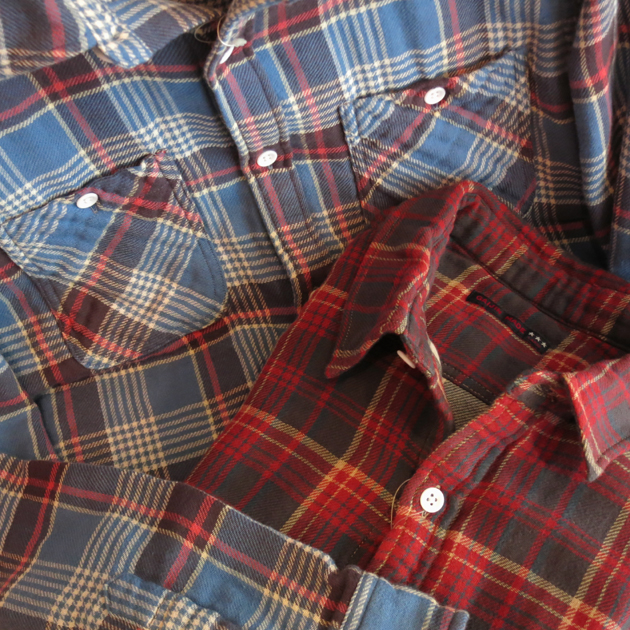 GAIJIN MADE チェックシャツ (3).JPG