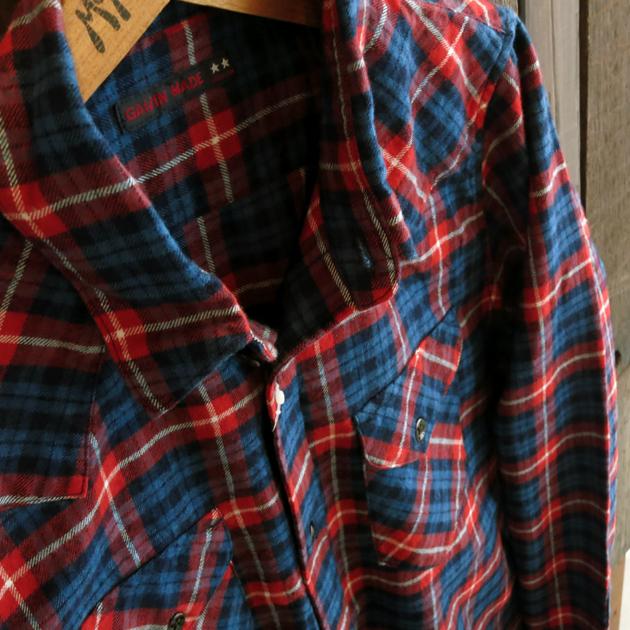 GAIJIN MADE チェックシャツ (4).JPG