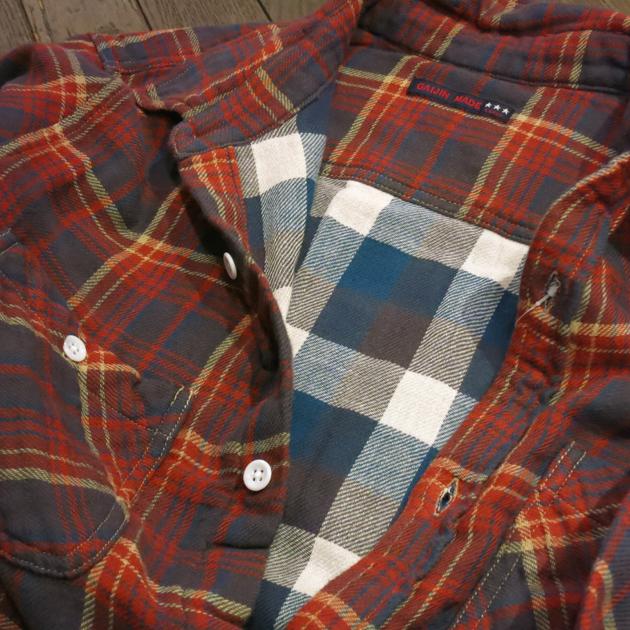 GAIJIN MADE チェックシャツ (6).JPG