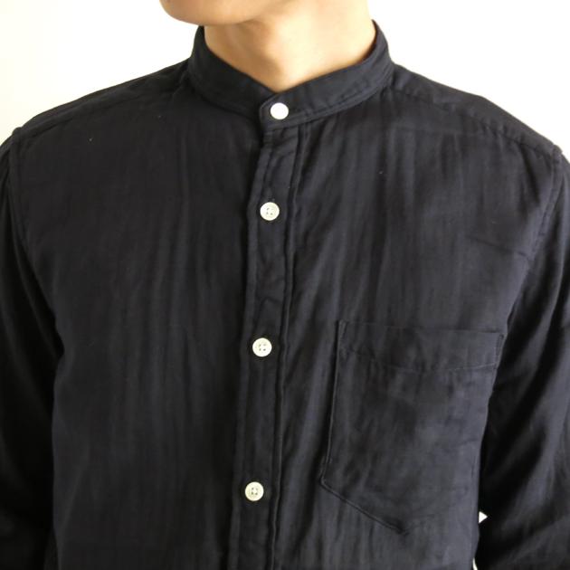 San Francisco バンドカラーシャツ2.JPG