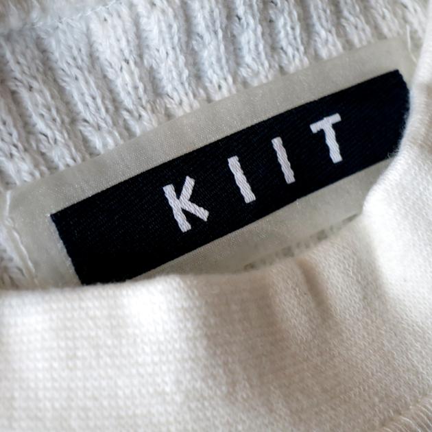 KIIT ビッグワッフルカットソー (1).JPG