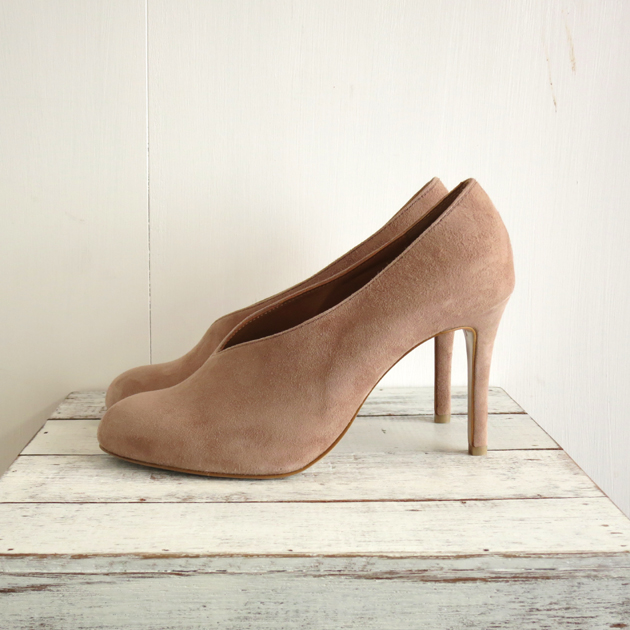 PIPPICHIC Round toe coverd pumps.JPG