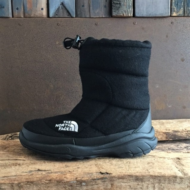 THE NORTH FACE Nuptse Bootie Wool?ブラック.JPG