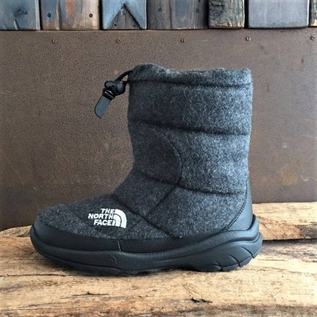 THE NORTH FACE Nuptse Bootie Wool?ミックスグレー.JPG