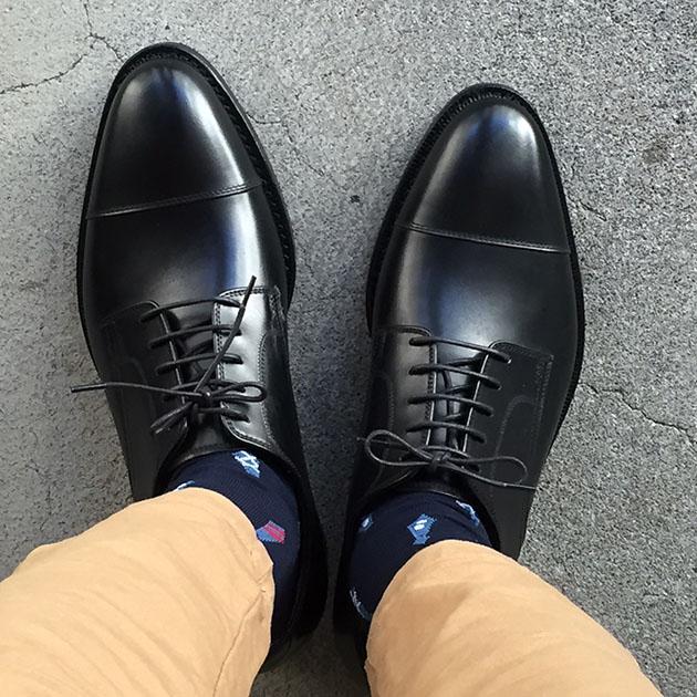ジャランスリワヤ ストレートチップ 靴.JPG