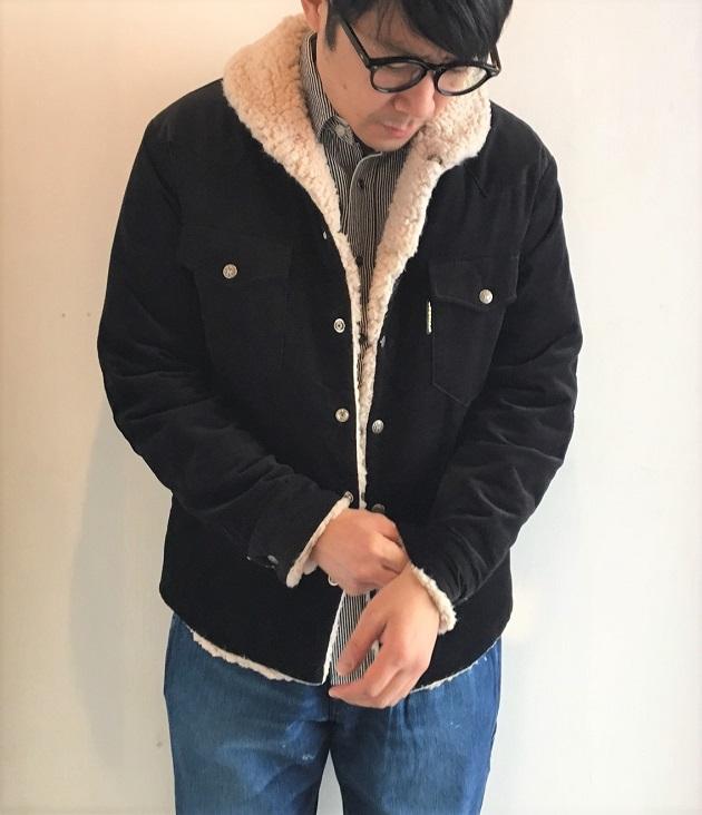 コーディロイボアライニングジャケット.JPG