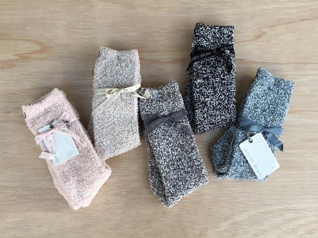BAREFOOT DREAMS Womans socks.jpg