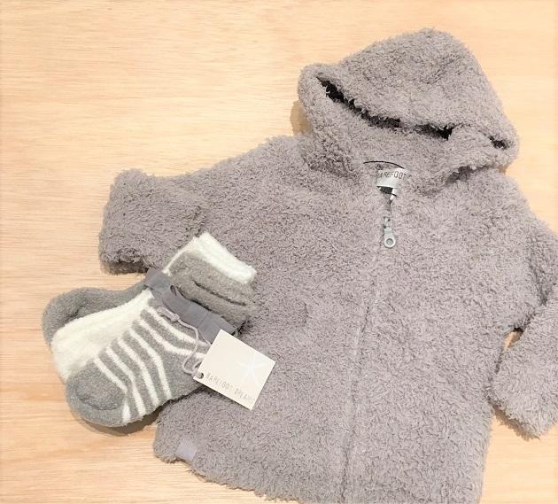 BAREFOOT DREAMS Infant socks 3pack5.JPG