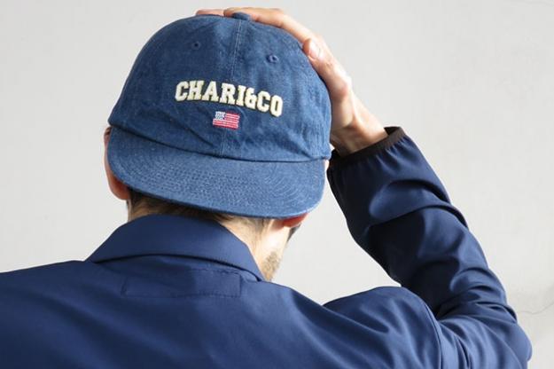 CHARI&CO キャップ 6PANEL ARCH LOGO .jpg