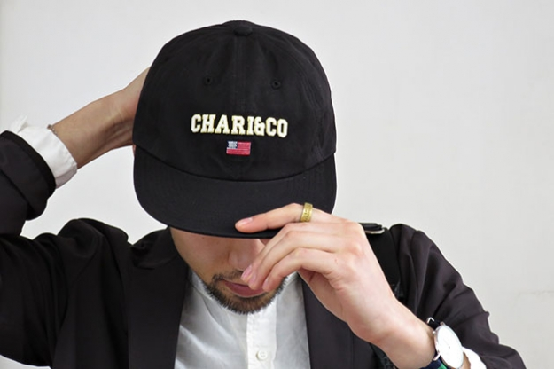 CHARI&CO キャップ 6PANELARCHLOGO .jpg