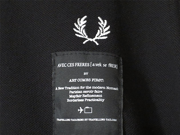 ARTCOMES FIRST FRED PERRY アートカムズ ファースト ポロシャツ.jpg