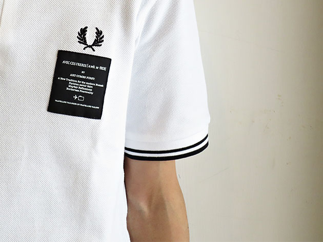 ARTCOMES FIRST FRED PERRY アートカムズファースト ポロシャツ.jpg