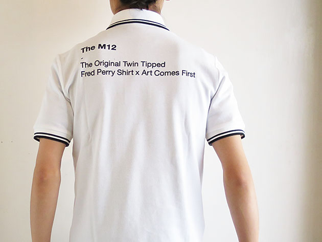 ARTCOMES FIRST FREDPERRY アートカムズファースト ポロシャツ.jpg