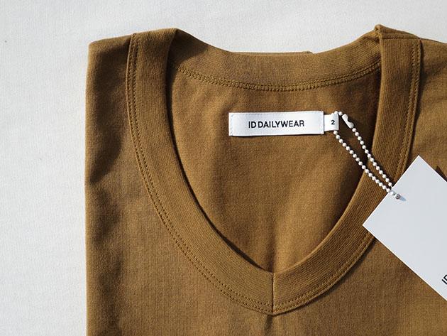 IDDAILY WEAR VネックTシャツ.jpg