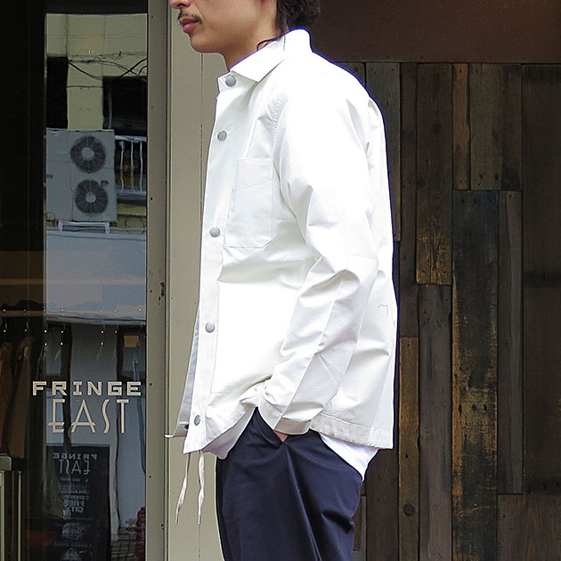 コットンナイロンウィンド ブレーカー コーチジャケット.jpg