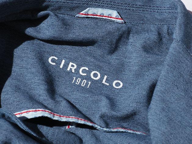 CIRCOLO1901 チルコロ ジャケット デニム 2017ss 春夏.jpg