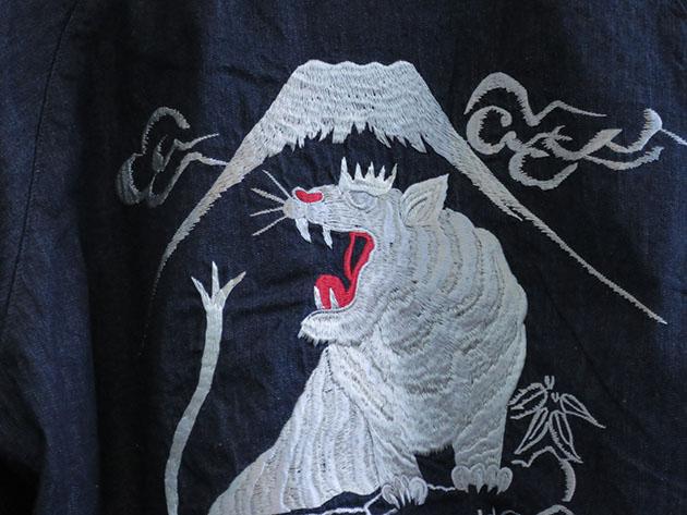 BLUEBLUE ホワイト タイガー スーベニア スカジャン リバーシブル.jpg