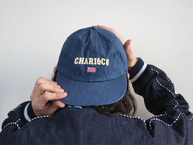 chari&co チャリアンドコー キャップ.jpg