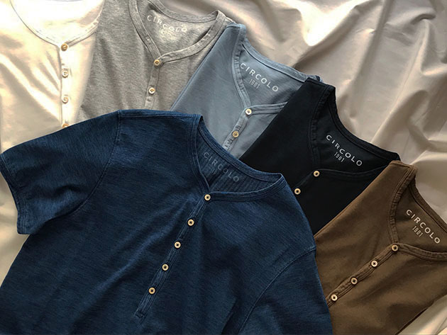 CIRCOLO1901 チルコロ ヘンリーネック カットソー Tシャツ.jpg