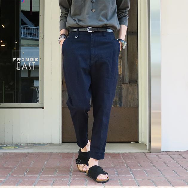 ID DAILY WEAR デニム スラックス パンツ.jpg