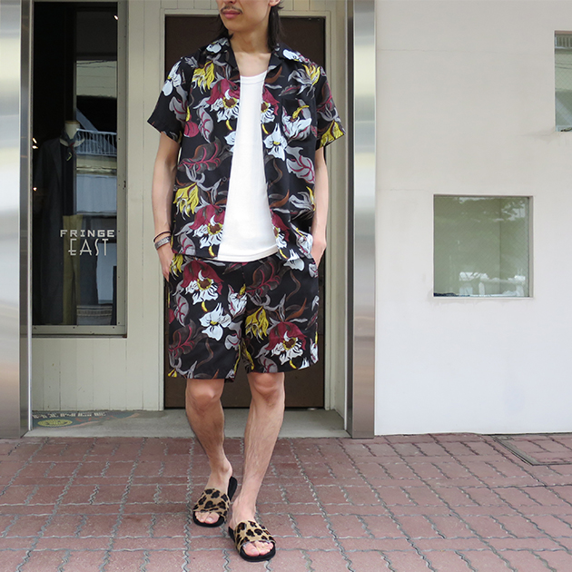 WACKOMARIA ワコマリア アロハシャツ 花柄 セットアップ.jpg