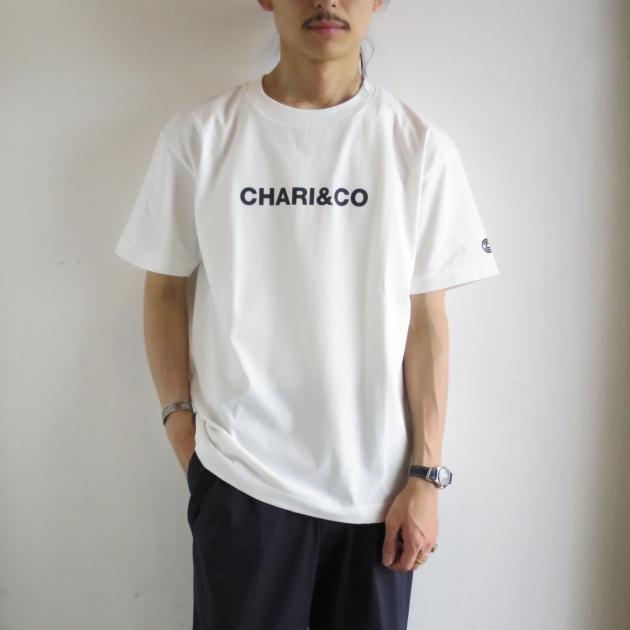 CHARI&CO チャリアンドコー ロゴTシャツ.JPG